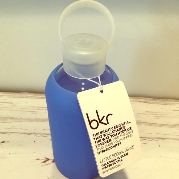 Bkr Romeo Glass Water Bottle (16oz/500ml) NWT
